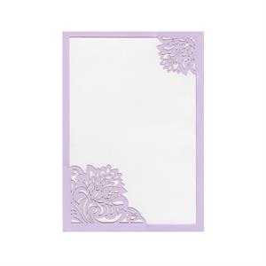 Shabby Rose Corners Invitation Slide-in Card