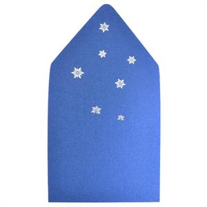 Snowflakes 6 1/2 Square Laser Envelope Liners