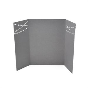 String of Lights Laser Gate Card