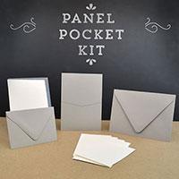 Cards and pockets pocket invitation kits panel pocket a7 invitation kit stopboris Images
