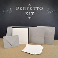 Cards and pockets pocket invitation kits perfetto pocket invitation kit stopboris Images
