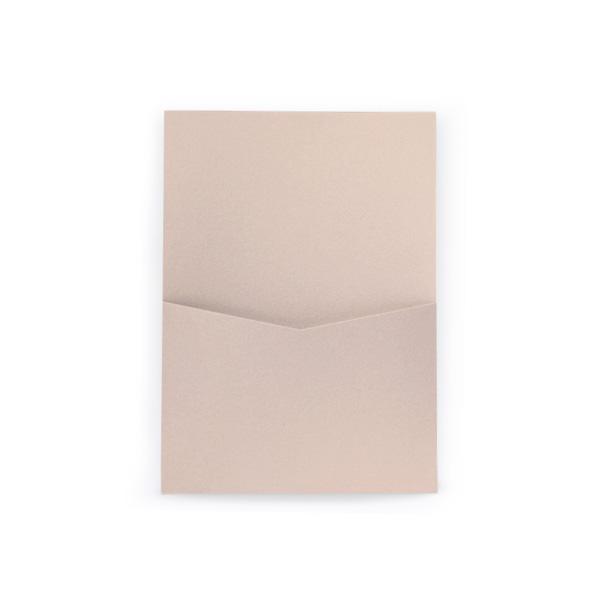 pocket invitation 5x7 panel pocket cards pockets