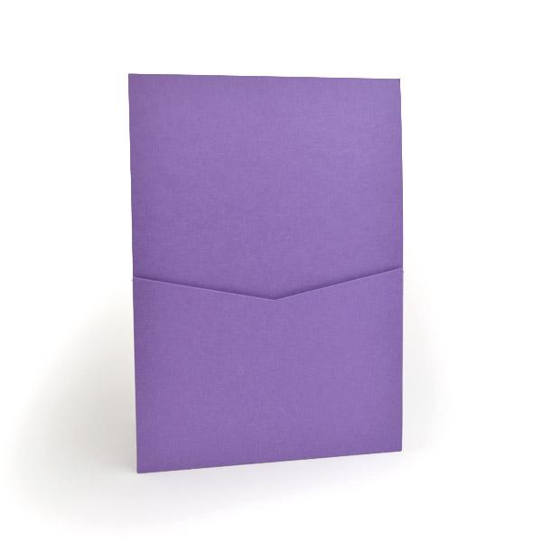 5 1//4 x 7 1//4 for 5x7 cards A7 Envelopes Purple Grape