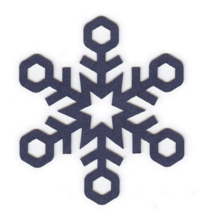 Retro Snowflake Shape Pack