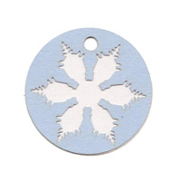 Oval Snowflake Shape Pack