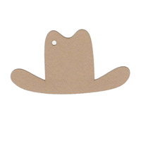Western Hat Shape Pack