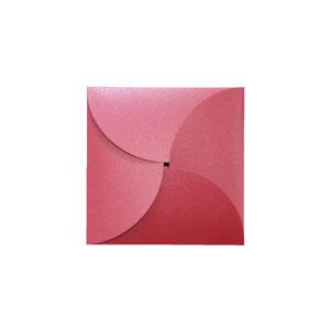 Petal folds unique petal invitation that blooms | cards & pockets.