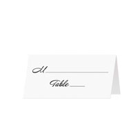 BASIC - Blank Folded Place Cards