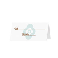 FLOWER PATCH - Blank Folded Place Cards