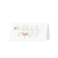 GARDEN - Blank Folded Place Cards