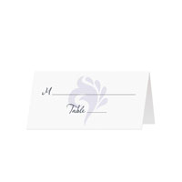 SWIRL - Blank Folded Place Cards