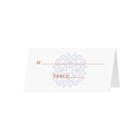 TILE - Blank Folded Place Cards