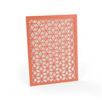 Cubes Laser Cut Invitation Sleeve