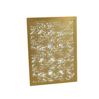 Flourish Laser Cut Invitation Sleeve