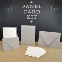Cards and pockets pocket invitation kits panel card invitation kit stopboris Image collections