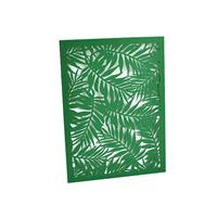 Tropical Laser Cut Invitation Sleeve