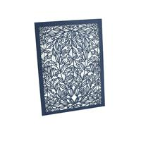 Vines Laser Cut Invitation Sleeve