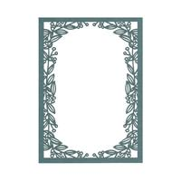 Laser Cut Invitation Frames