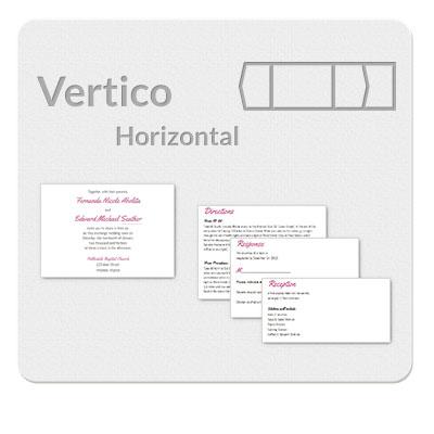 Vertico Horizontal Invitation Template
